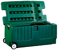Tack Trunk w/ Wheel Assembly